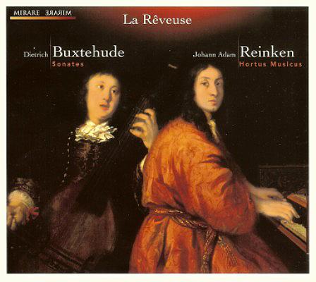 D. Buxtehude / J.A. Reinken - Sonates pour 2 violons, viole et basse continue - MIRARE 2009