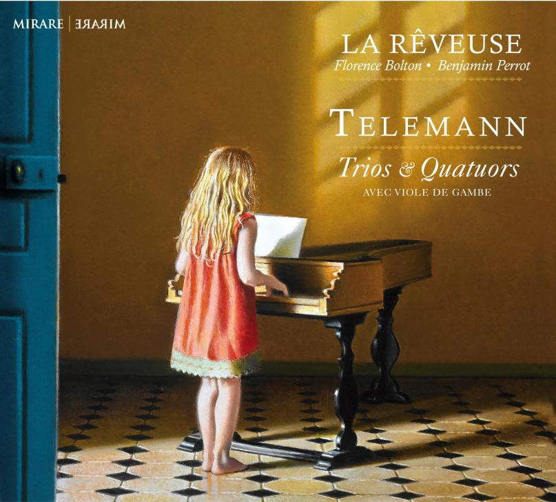 Telemann Trios & Quatuors avec viole