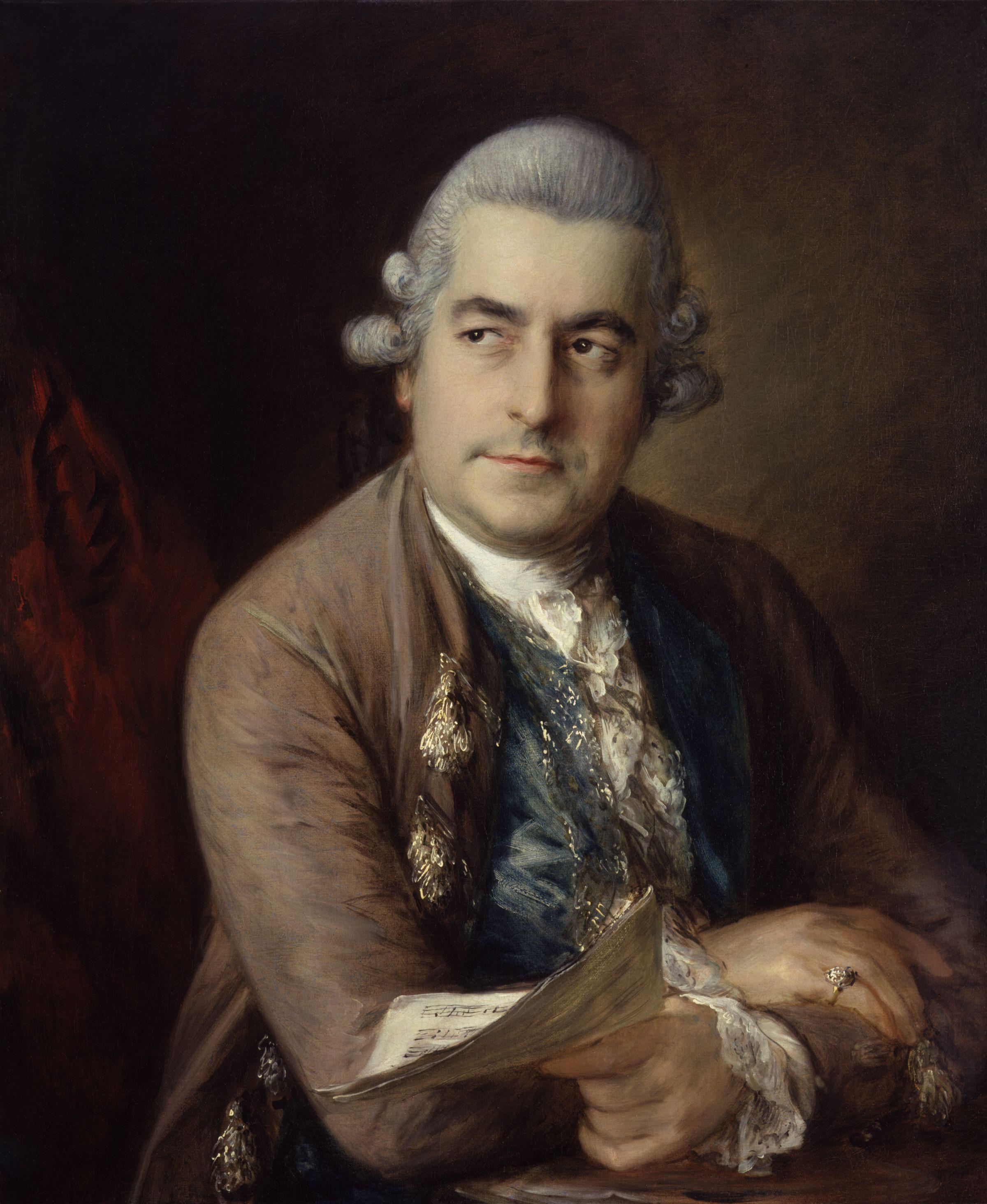 Londres 1760, Les Allemands de londres