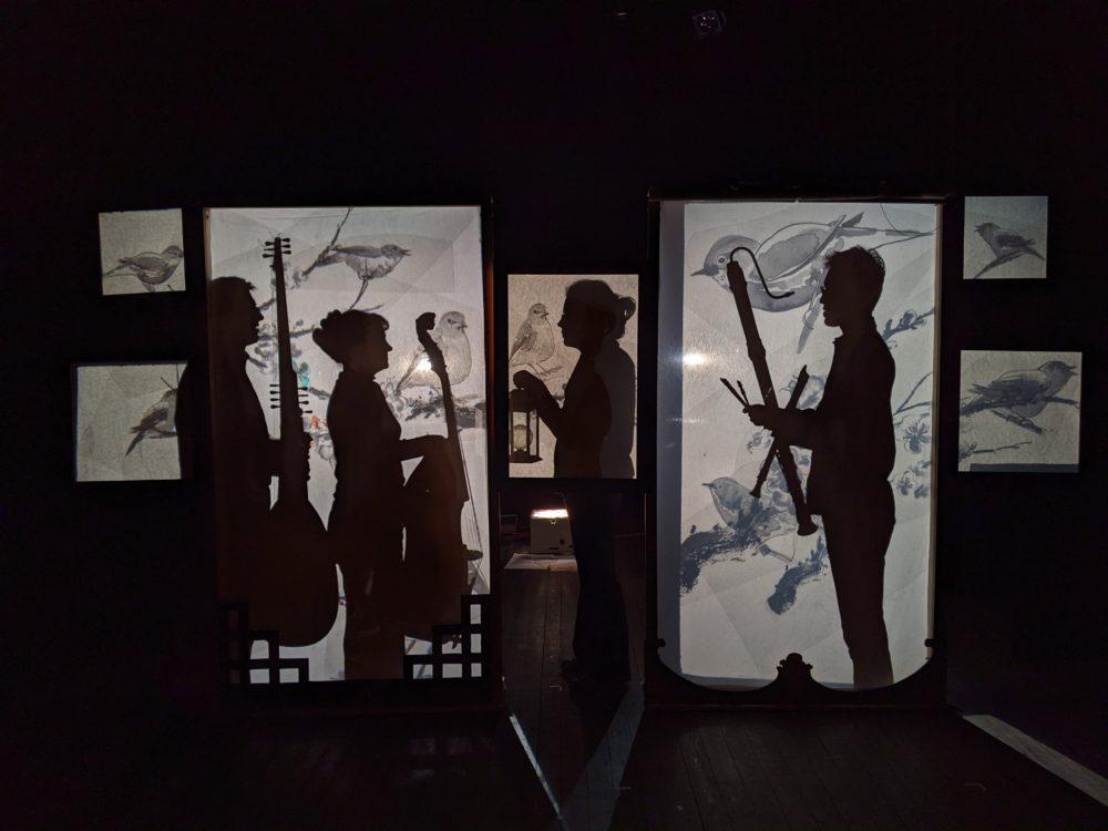 artistes sur scène Le rossignol et l'Empereur de Chine Photo Rémy Saysana