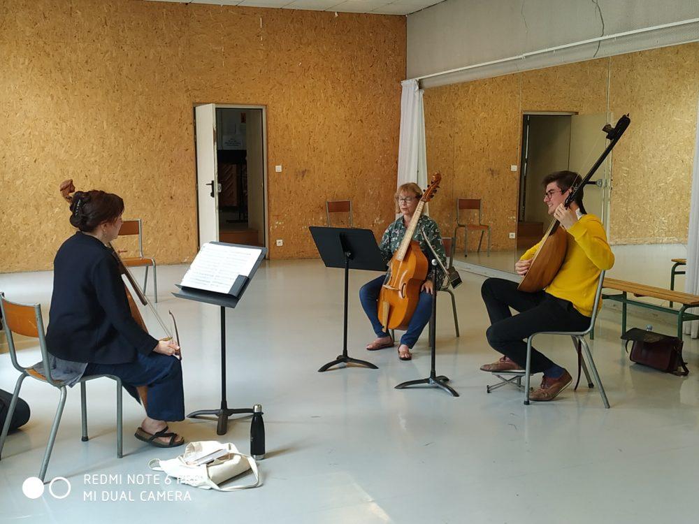 Les cours de musique de chambre des Ateliers