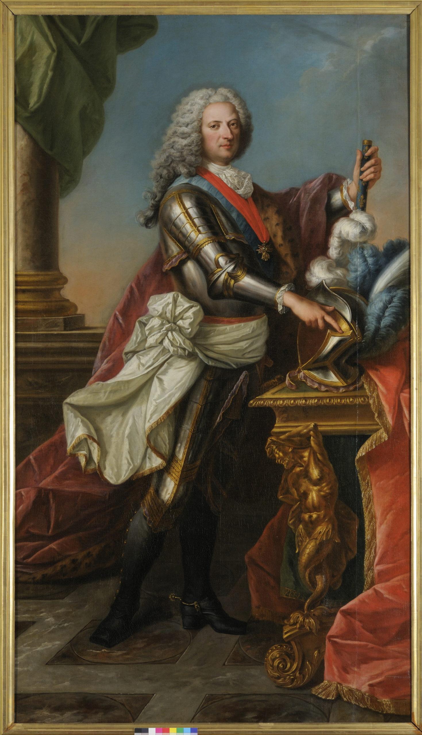 Portrait de Philippe, duc d'Orléans et Régent de France (1674-1723) Musée des Beaux-Arts © François Lauginie.